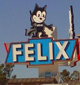 Felix the Cat, Chevrolet dealership
