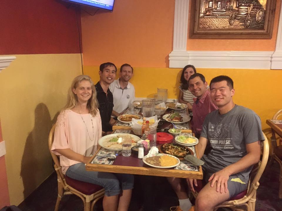 La cena en Pueblo Viejo, 2015-08-10.  (Foto: Ning)A