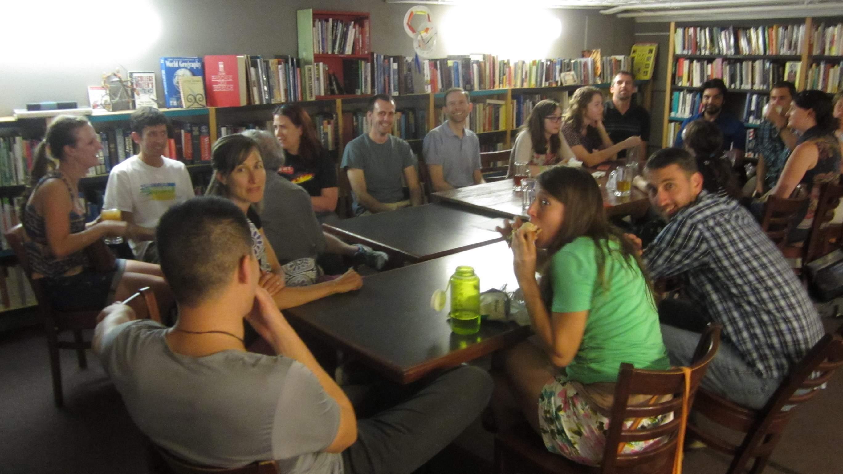 Nuestro grupo de conversación española el 6 de junio de 2016.