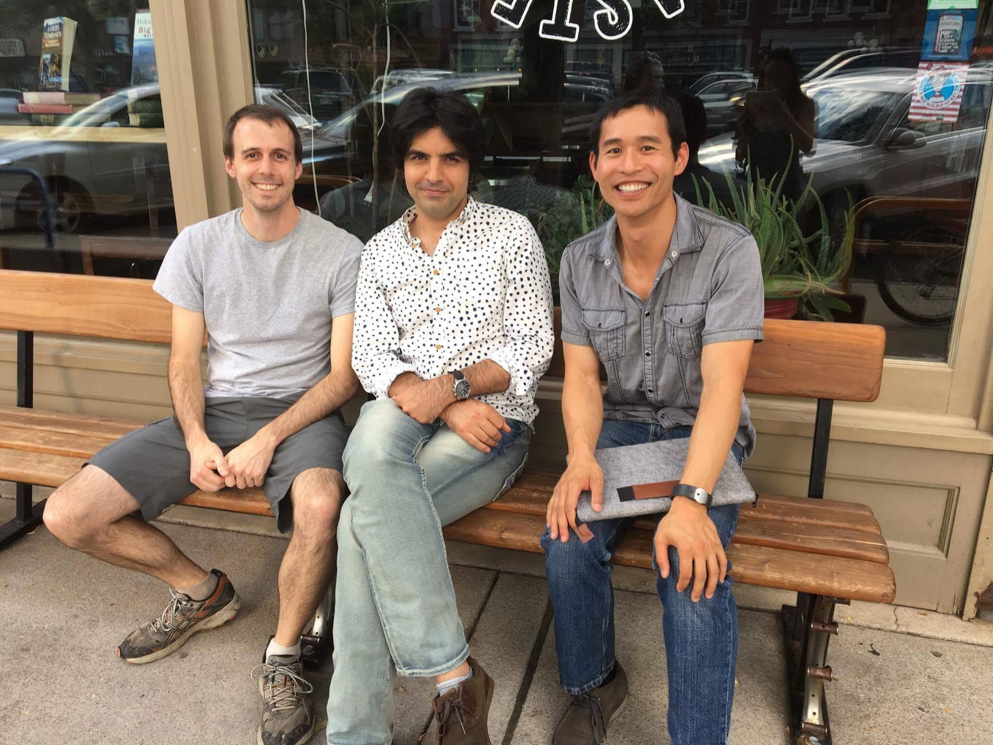 Alberto, Azad, y Félix