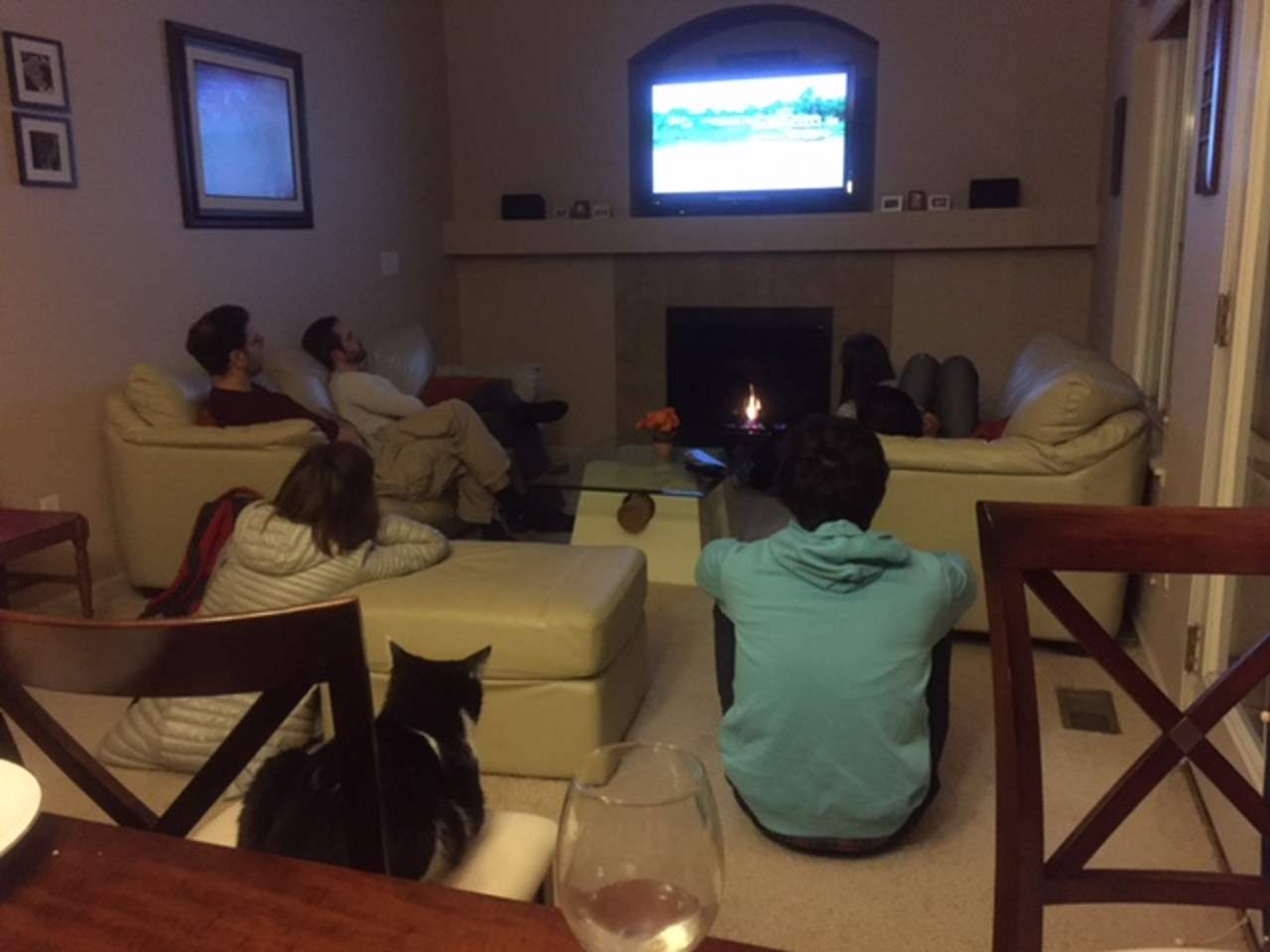 Spanish Movie Night, February 26, 2017. (Photo: Ning)